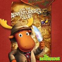 The Backyardigans Join the Adventurer's Club - iTunes Cover (Canada)