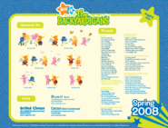 Backyardigans Fireflies Spring 2008 Guide