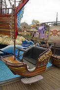 The Backyardigans Pirate Treasure Cart at Pleasure Beach Blackpool