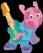 The Backyardigans Let's Play Music! Guitarist Uniqua 2