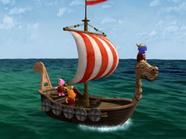 The Backyardigans Viking Voyage 3 - Uniqua Pablo Tyrone