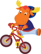 The Backyardigans Sport-Tacular Tyrone on Bicycle