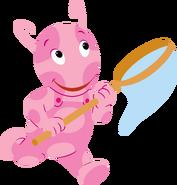The Backyardigans Uniqua with Net Nickelodeon Character Image