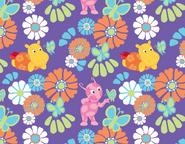 The Backyardigans Uniqua Tasha Butterfly Pattern