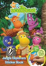 The Backyardigans Jungle Explorers Sticker Book
