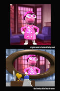 The Backyardigans The Lady in Pink Model Comparison