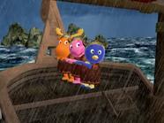 The Backyardigans Viking Voyage - Uniqua Pablo Tyrone 1