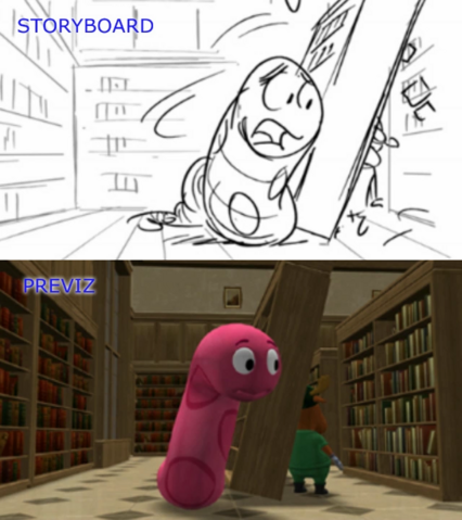File:The Backyardigans 50 Foot Storyboard-Previsualization Comparison 7 Sherman the Worman.png