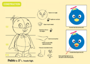 The Backyardigans Pablo Character Construction Guide