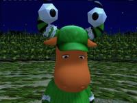 Farmer Tyrone as a Fake Spaceman