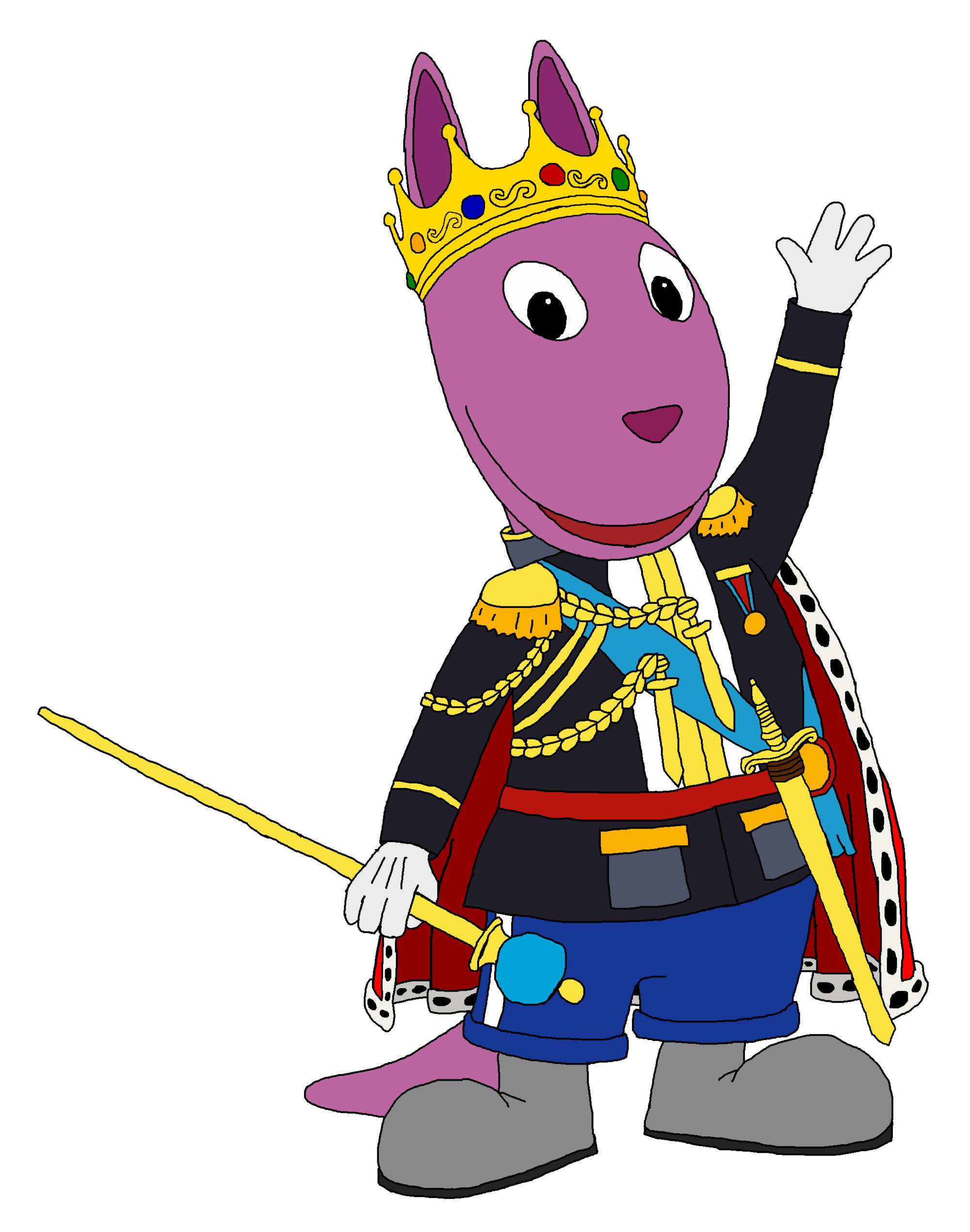 King Austin Backyardigans Fanon Wiki Fandom Powered By