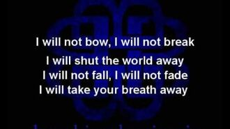 Breaking Benjamin - I Will Not Bow (Lyrics on screen)