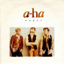 A-ha angel in the snow