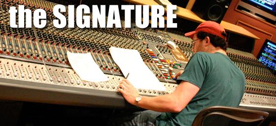 Prize signature