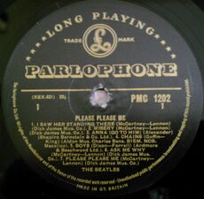 Parlophone LP PMC 1202