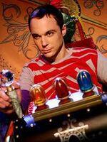Sheldon en la máquina del tiempo