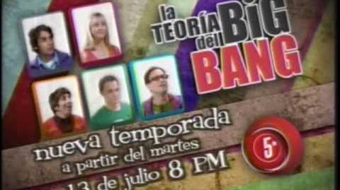 La Teoria del Big Bang (The Big Bang Theory) Nueva Temporada Canal 5