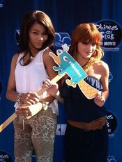 Zendaya-and-bella-thorne-premiere-phineas-and-ferb-movie-twitter