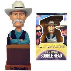 Big lebowski bobblehead stranger