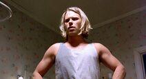 Blond treehorn thug