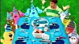 Blue's Clues Best Friends Week Promo 2 (2000)
