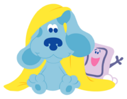 Blue's Clues Slippery Soap with Blue Image