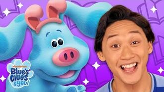 3 Little Pigs Story Time with Blue Blues Clue's & You!