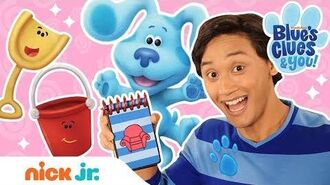 Josh is a Clue! 🔍+ Skidoo w Shovel & Pail Blue's Clues & You!