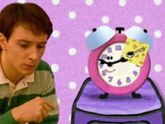 Blue's Clues Tickety Tock with Note