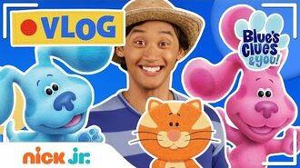 Josh & Blue's VLOG! 📹 Ep 3 Garden Sing Along, Touring School & Mailtime w Blue's Clues! Nick Jr.