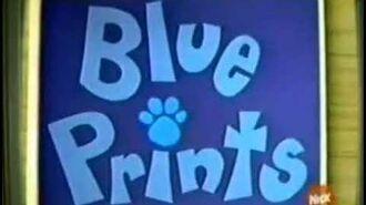 Blue's Clues Season 1, Episode - Blue Prints AUDIO