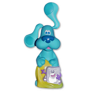 Blue's Clues Slippery Soap Bubble Bath Container - 2000