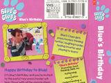 Blue's Birthday (VHS)