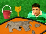 Blue's Clues Shovel and Pail with Clay