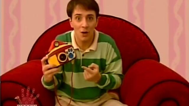 Video Blue S Clues 01x19 Magenta Comes Over Blue S