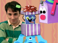 Blue's Clues Mailbox Birthday Present