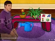 Joe with Magenta's Plants