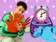 Blue's Clues Tickety Tock Thankful