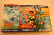 Blues-Clues-VHS-Video-Tapes-LOT-OF-3