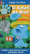 Blue'sCluesBlue'sSafariSpanishVHS