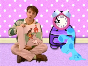 Blue's Clues Tickety Tock and Blue