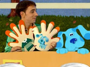 Blue's Clues Steve Thankful Book