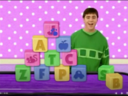 Joe with a J clue made in blocks