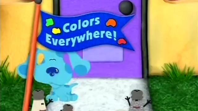 Video Blue S Clues 05x05 Colors Everywhere Blue S