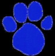 Blue's Pawprint