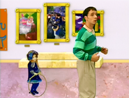 Steve and Rain Girl in the Art Museum