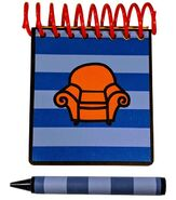 Blue's Clues Handy Dandy Notebook 15