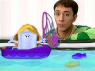 Blue's Clues Slippery Soap Fisherman Costume