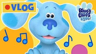Blue's Clues Vlog 9 Find the Snail Game, Play Time Sing Along & Juggling Fun Blue's Clues & You!