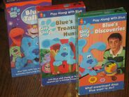 155046857 blues-clues-vhs-tapes---blue-talks---blues-discoveries